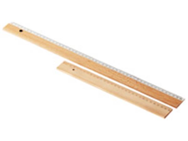Liniaal plastic 30 cm, 20 stuks