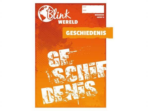 Onwijs Online Blink Wereld Geschiedenis werkboek groep 8 2020-2021 kopen DX-82