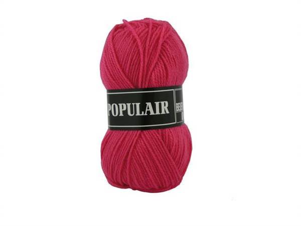 Breigaren populair acryl typisch roze 50 gram, 120 meter